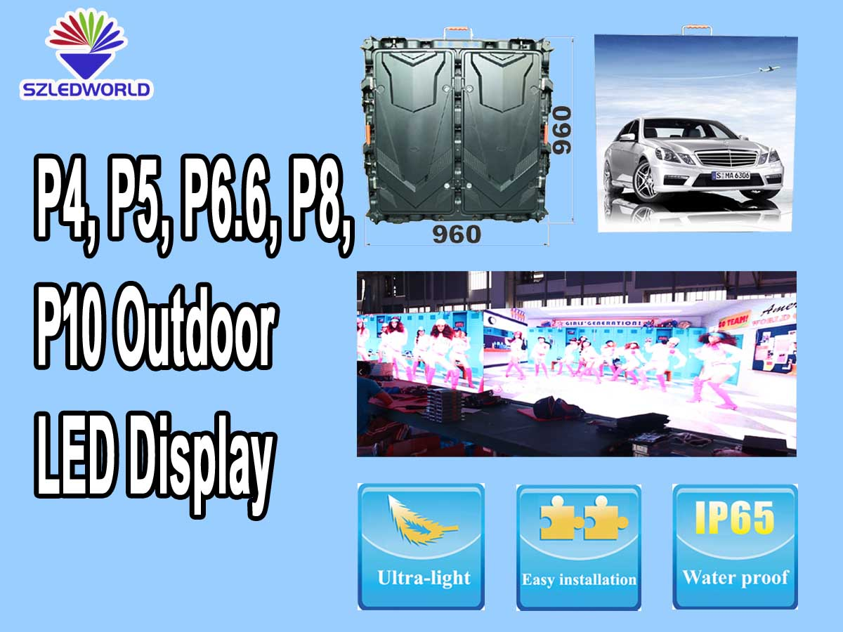 p4,P5,P6.6,P8,P10 outdoor led display