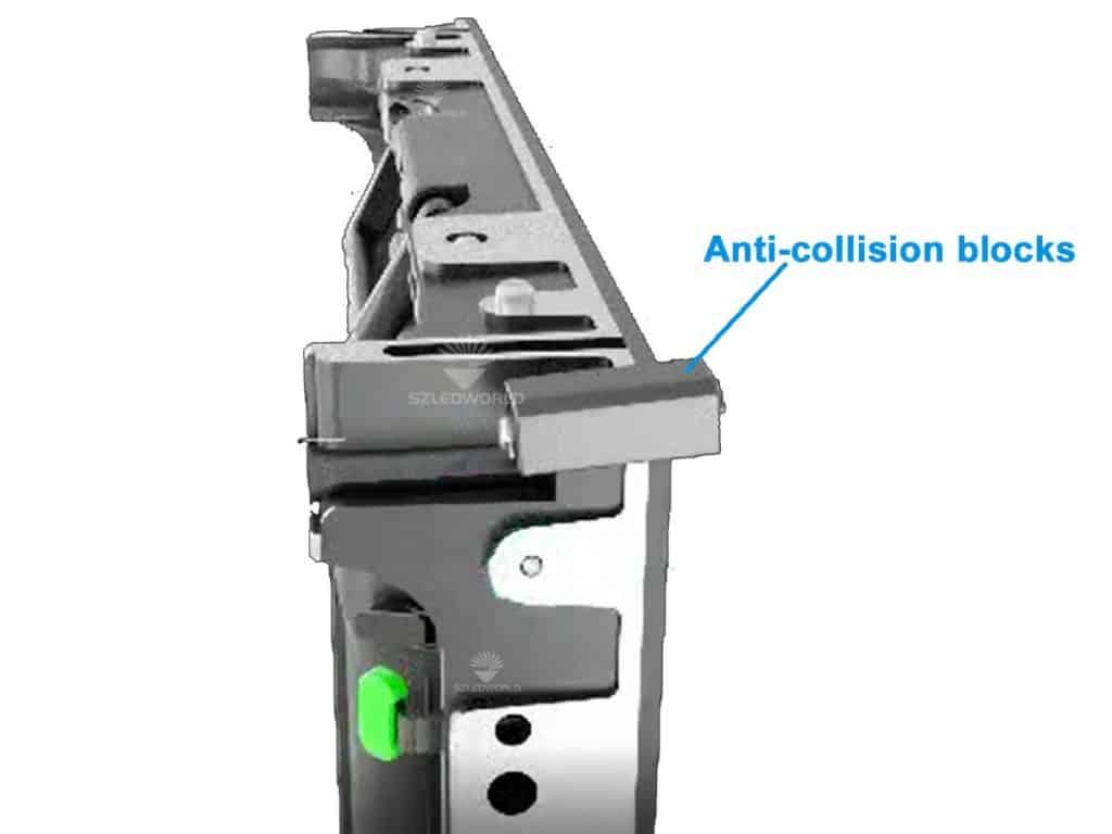 RK500 series Anti-collision blocks