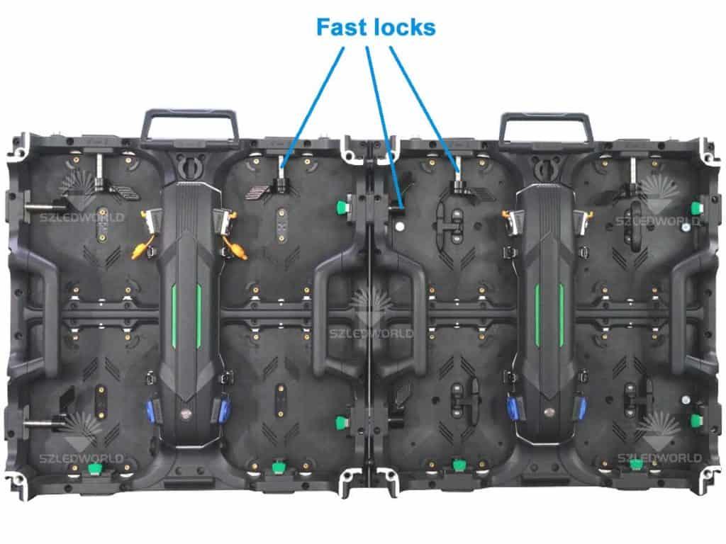 RK500 series cabinet fast locks