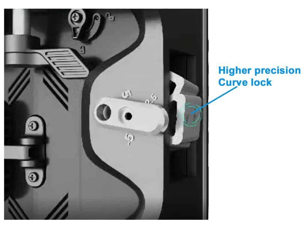 RK500 series curved lock