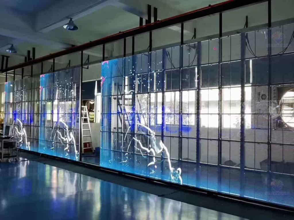 transparent led display screen