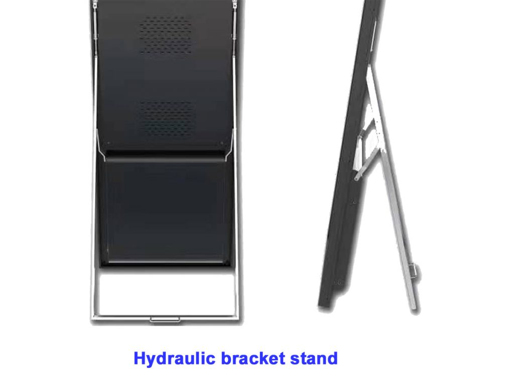 Hydraulic bracket stand