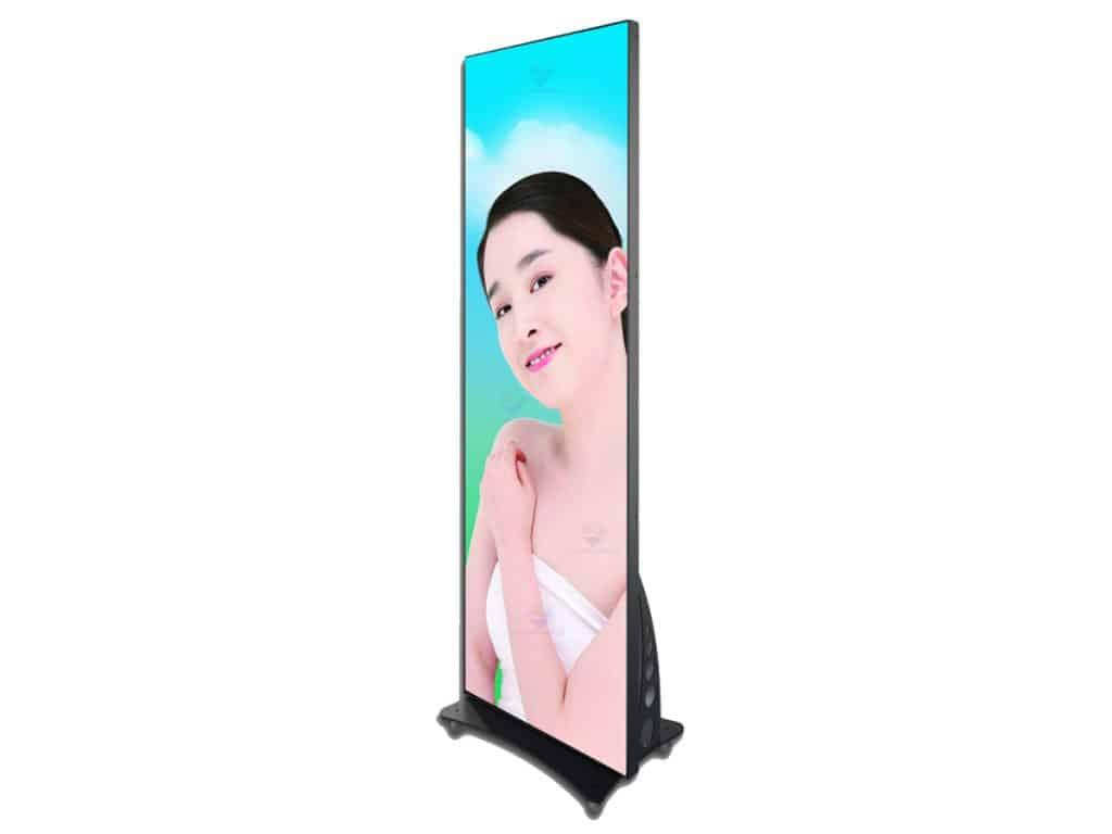 base standing mirror led display