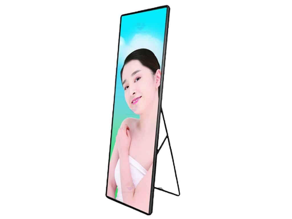 bracket standing mirror led screen