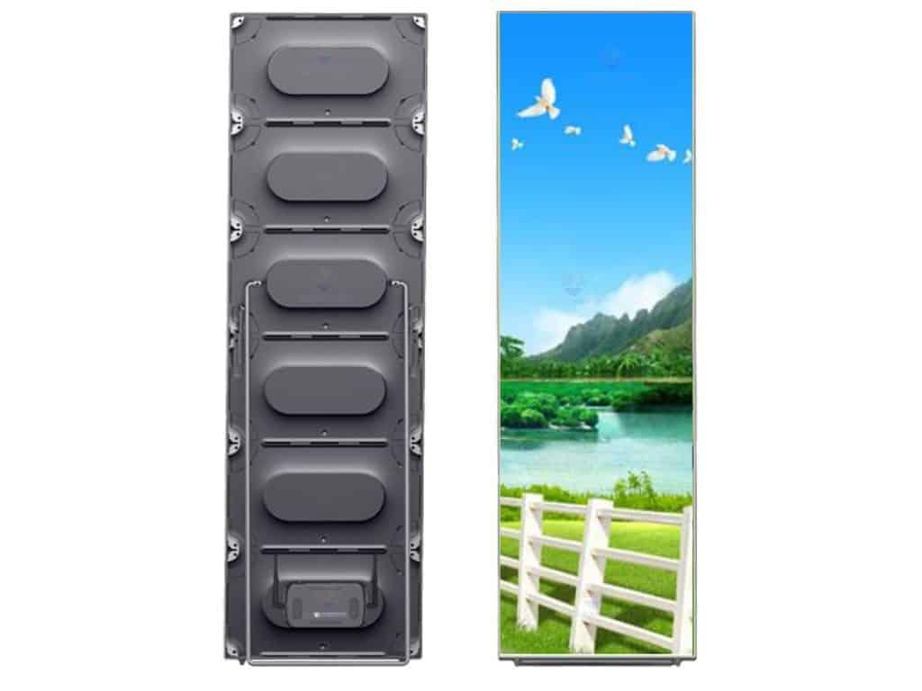 die-cast aluminum led cabinet