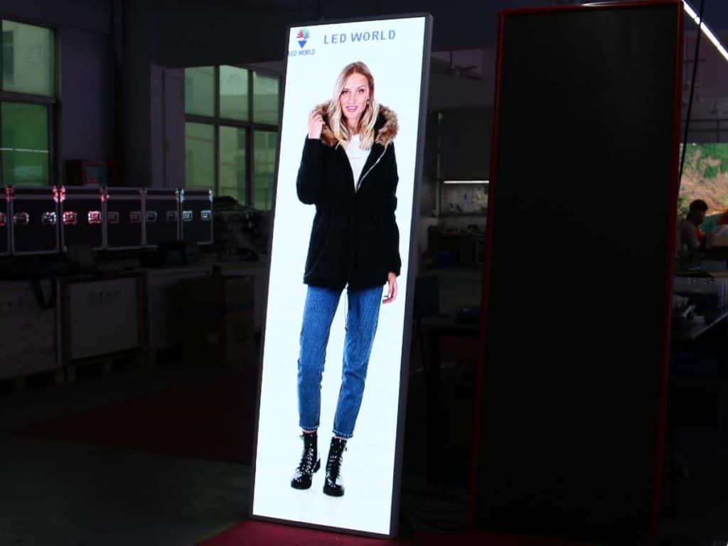 poster led display aging testing